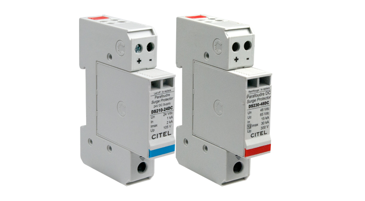 dc power surge protection